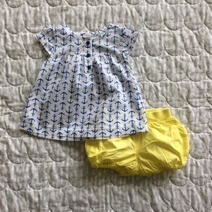 Carter's | Baby girl 2 piece summer outfit